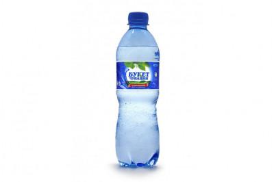 Вода газированная «Букет Чувашии», 0,5 л