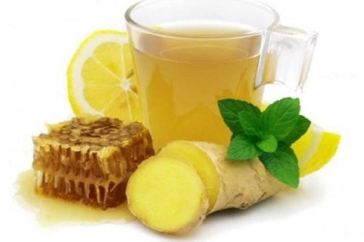 Лимонад имбирный с медом, 1,0литр