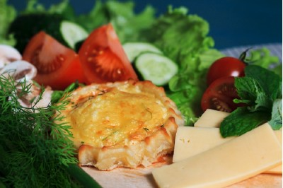 Перепечки с сыром